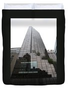 Trump Tower Reflection New York Duvet Cover