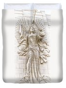Trumpeting Angel Duvet Cover