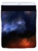 Tsunami Abstract Duvet Cover