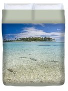 Tuamatu Islands Duvet Cover