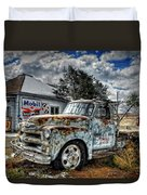 Tucumcari Towing Duvet Cover