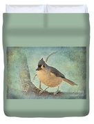 Tufted Titmouse IIi Duvet Cover