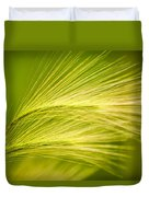 Tufts Of Ornamental Grass Duvet Cover