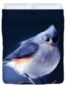 Tufty The Titmouse Duvet Cover
