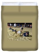 Mid-atlantic Lifeguard Competition - Tug Of War  Duvet Cover