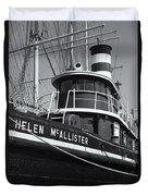Tugboat Helen Mcallister II Duvet Cover