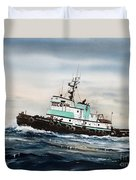 Tugboat Island Champion Duvet Cover