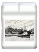 Skagit Chief Tugboat Duvet Cover
