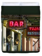 Tujague's Bar And Restaurant Duvet Cover
