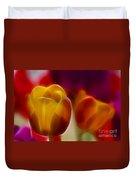 Tulip-7016-fractal Duvet Cover