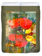 Tulip Abstracts Duvet Cover