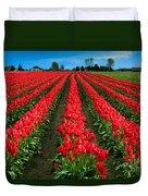 Tulip Cornucopia Duvet Cover