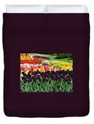 Tulip Field 1 Duvet Cover