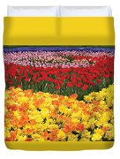 Tulip Field Duvet Cover