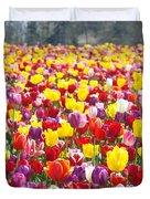 Tulip Flower Festival Art Prints Spring Duvet Cover