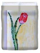 Tulip For You Duvet Cover