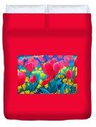 Tulip Garden Duvet Cover