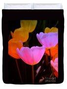 Tulip Glow Duvet Cover