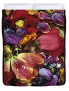 Tulip Heads Duvet Cover