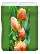 Tulip Quartet Duvet Cover
