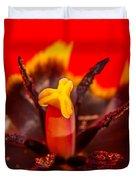 Tulip Stamp Duvet Cover