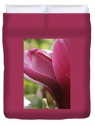 Tulip Tree Flower With Raindrops Duvet Cover