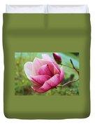 Tulip Tree In Bloom Duvet Cover