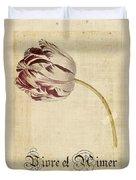 Tulip - Vivre Et Aimer S02t03tr Duvet Cover