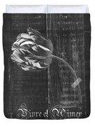 Tulip - Vivre Et Aimer S10t04t Duvet Cover