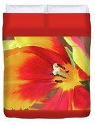 Tulip Warm Tones Duvet Cover