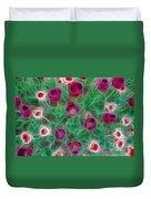 Tulips-6867-fractal Duvet Cover