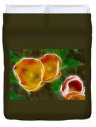 Tulips-6892-fractal Duvet Cover