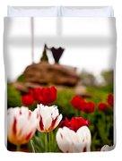 Tulips Ani Tsalagi Duvet Cover