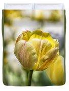 Tulips At Dallas Arboretum V27 Duvet Cover