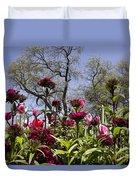 Tulips At Dallas Arboretum V35 Duvet Cover