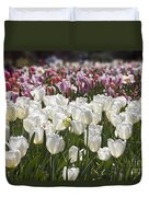 Tulips At Dallas Arboretum V52 Duvet Cover