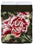 Tulips At Dallas Arboretum V55 Duvet Cover
