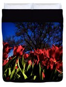 Tulips At Dallas Arboretum V63 Duvet Cover