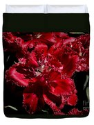 Tulips At Dallas Arboretum V74 Duvet Cover