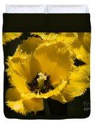 Tulips At Dallas Arboretum V76 Duvet Cover