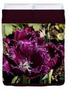 Tulips At Dallas Arboretum V85 Duvet Cover