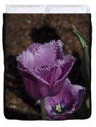 Tulips At Dallas Arboretum V88 Duvet Cover