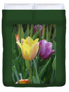 Tulips - Caring Thoughts 03 Duvet Cover
