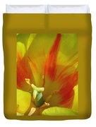 Tulips - Cheerful Energy 06 Duvet Cover