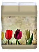 Tulips Color Duvet Cover