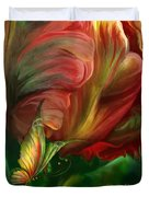 Tulips - Colors Of Paradise Duvet Cover