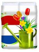 Tulips Eco Duvet Cover