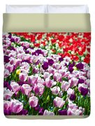 Tulips Field Duvet Cover