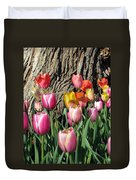 Tulips - Field With Love 07 Duvet Cover