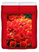 Tulips - Field With Love 28 Duvet Cover